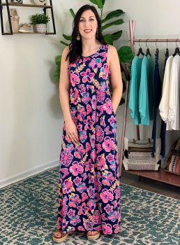 Simply Southern Maxi Dress -Butterfly