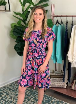 Simply Southern Party Dress - Butterfly