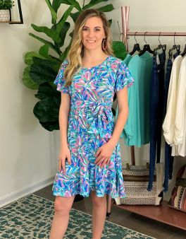 Simply Southern Party Dress - Abstract