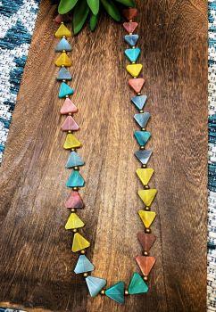 Anju Omala Pastels Necklace - Multi