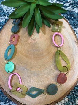 Anju Omala Collection Necklace - Pastels