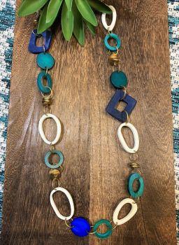 Anju Omala Azure Coast Necklace - Turquoise