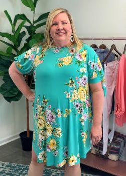 All You Need Plus Dress - Mint
