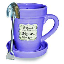 Flower Pot Mug - Violet Mom