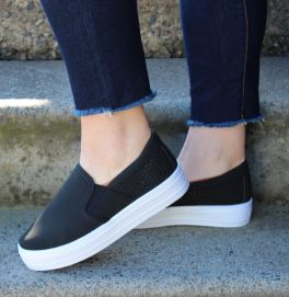 Looking For You Sneakers - Black