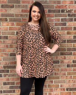 That's My Story Tunic - Leopard