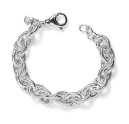 Sterling Silver Link Bracelet - 7.5 Inch