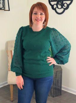 I've Got Soul Sweater - Hunter Green