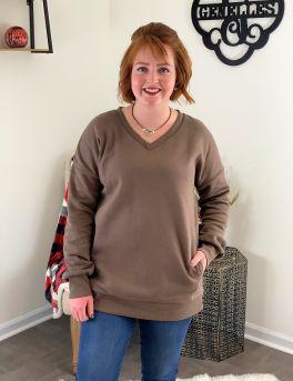 Southern Comfort Sweatshirt - Mocha