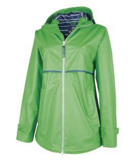 Kelly Green New Englander Rain Jacket