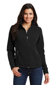 Ladies Fleece Jacket - Black