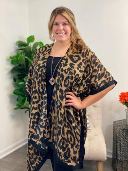 Better Than Best Kimono - Brown