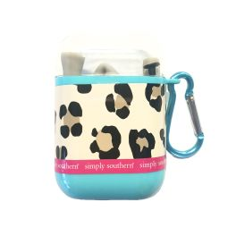Simply Southern Silicone Travel Straw - Leopard