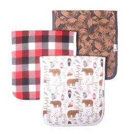 Premium Burp Cloths - Lumberjack