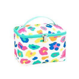 Fun Leopard Cosmetic Bag