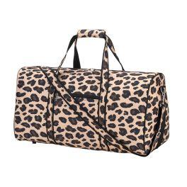 Wild Side Leopard Duffel Bag