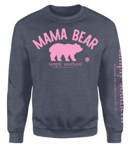 Simply Southern Mama Bear Crewneck Sweatshirt