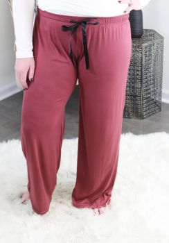 Simply Southern Lounge Pants - Maroon
