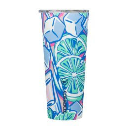 Corkcicle Vineyard Vines 24oz Tumbler - Mint Julep