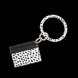 Card Holder Bracelet Keychain - Spot On