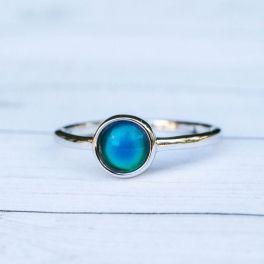 Puravida Silver Mood Ring