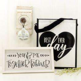 Mr. & Mrs. Personalized Happy Box