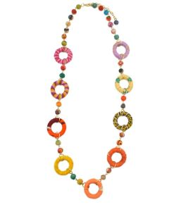 Handcrafted Aasha Ring Necklace