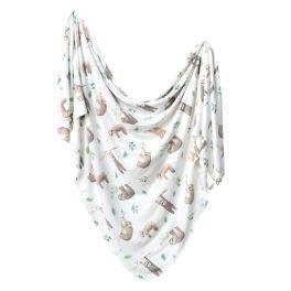 Knit Swaddle Blanket - Noah
