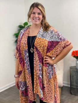 Prove To You Kimono - Orange