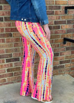 Right For Me Flare Pants - Pink