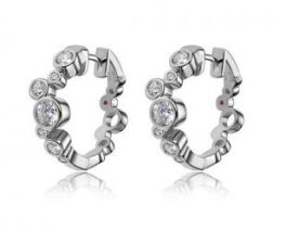Elle Bubble Hoop Earrings