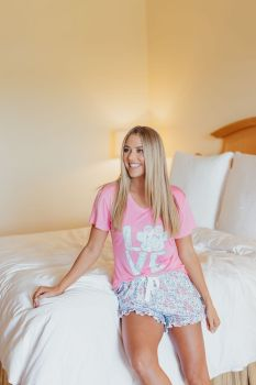 Simply Southern PJ Short Set - Love Paw Print