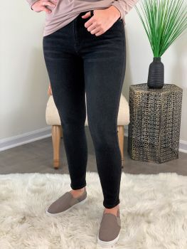 This Is Magic High Rise Super Skinny Jean - Black