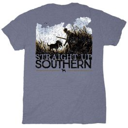 Straight Up Southern Duck Hunter & Dog T-Shirt