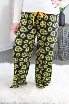 Simply Southern Lounge Pants - Sunflower