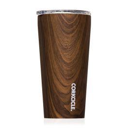 Corkcicle 16oz Tumbler - Walnut Wood