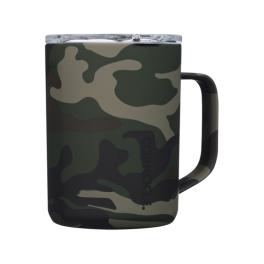 Corkcicle 16oz Coffee Mug - Woodland Camo