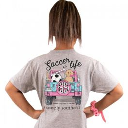 Simply Southern Soccer T-Shirt - YOUTH