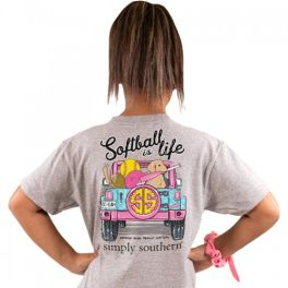 Simply Southern Softball T-Shirt - YOUTH
